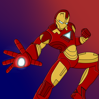 Who's up for the Invincible Iron Man! by HeadHunterXZI