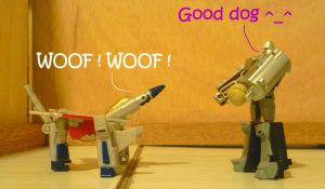 A dog mode for Starscream ? by AUJEANPAS