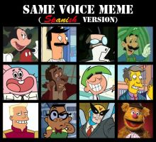 JaviDLuffy's Same Voice Meme (I) by JaviDLuffy