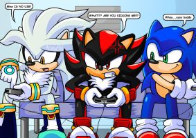 Sonic's Gamer Team by Arung98