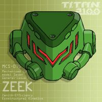 ZEEK headshot (for T.I.T.A.N. 2100) by Grebo-Guru