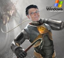 Bill gates in hl by city17