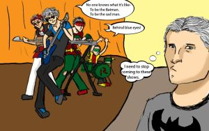 The Robins ft Nightwing by magickmaker