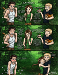 Hunger Games: Everyone Wants Katniss by alisagirard