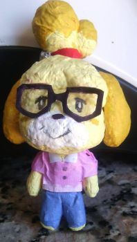 Isabelle papermade figure by Solo993