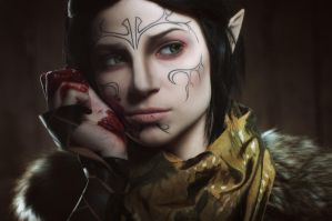Merrill 3 - Dragon Age II cosplay by LuckyStrike-cosplay