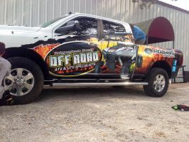 Dodge Ram Wrap for Independence Co. Off Road by tbtyler