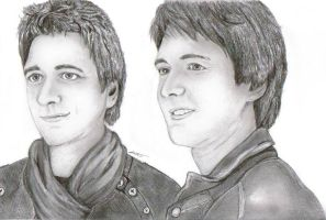 Oliver and James Phelps by Arca9
