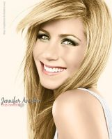 Colorize Jennifer Aniston by Sophies27