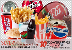 10 Coke and chips png's by Silver-resources