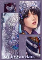 spring snow's detail by jiuge