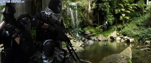 Call of Duty Ghosts Cosplay Art Wallpaper by SPARTANalexandra