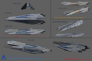 Systems Alliance Kilimanjaro Class Dreadnought by reis1989