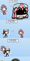 Flying Dinner 1: Not Yuyuko but... by springlover432