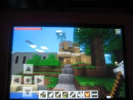 New Mincraft house by latios-and-latias