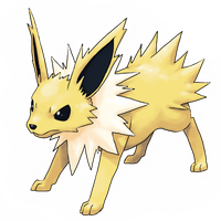 Jolteon by Psidra