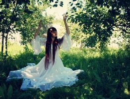 White Dress by GingerAlice