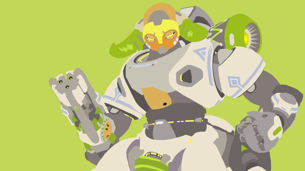 Orisa from Overwatch by Reverendtundra