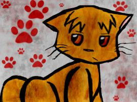 Lionblaze - Bloody Paws by Sir-Bickle