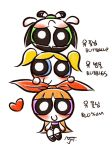 Powerpuff sisters by MojoT