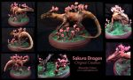Sakura Dragon by LunarSapphire-studio