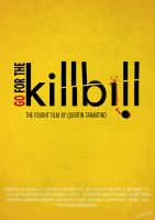Kill Bill Typography  Poster by escdesigner