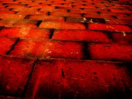 Red Tile by cartmaneric