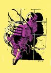 Dredd On The Prowl by ComicStumps