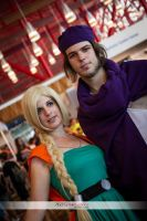Dragon Quest The heavenly Bride, Bianca and Hero 2 by AsakuraYumiChan