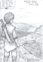 Travelling Book 1 hand drawing by BanishedPrince