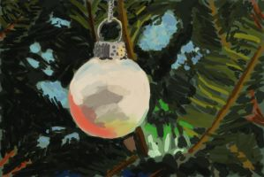 Practice 0057 GIMP Christmas Ornaments after s by ludwig-a