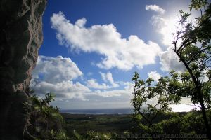 East Kauai from Above by seraphinx