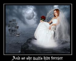 And so she waits him forever by AnnFrost