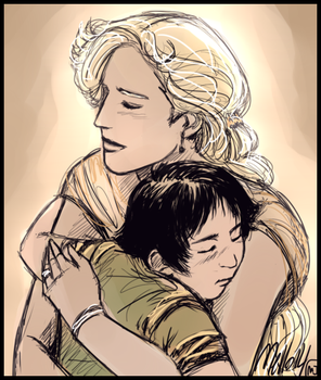 You will always be my son by MellorianJ