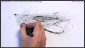Learn How To Draw A Cartoon Airplane 031 by drawingcourse