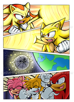 Sonic Archie Portfolio: Comic Page 4 by SailorMoonAndSonicX