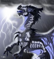 Dark Lightning by FantasyToArt