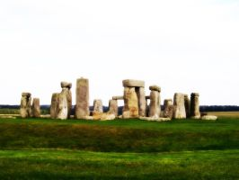 Stonehenge Layered by cjgraphix
