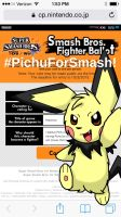 Pichu for Smash! by Pikachugirl345