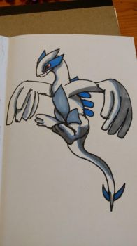 Lugia by metalandwings