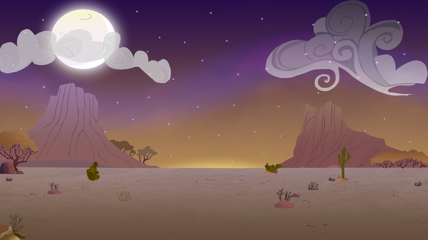 Desert Night by MysteryMelt