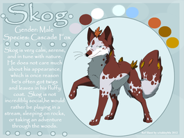 Skog Reference Sheet by TheCynicalHound