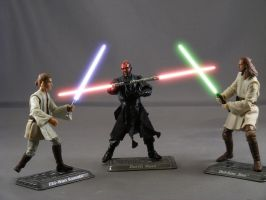 More Duel of the Fates by maulsballs