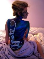 body painting by somthinglikeart