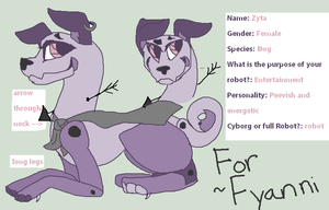 Robot Custom Adopt for ~Fyanni by Peculiar-NomNom