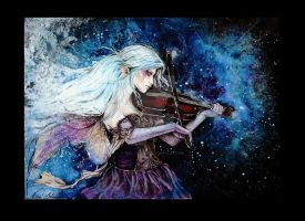 Violin romance NEW VERSION by girl-of-art