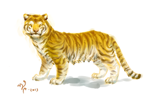 Tiger. by Moonticore