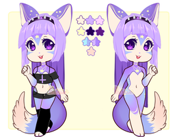 [A] Pastel Fennec [CLOSED] by Pikapaws