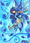 Blue Fairy by Merry-Muse