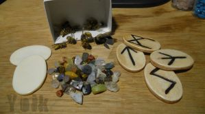 Craft Materials - Bees, Bone and Stone by Shamans-Yoik